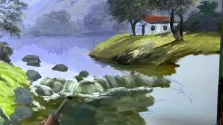 Dicas para pintar cachoeira