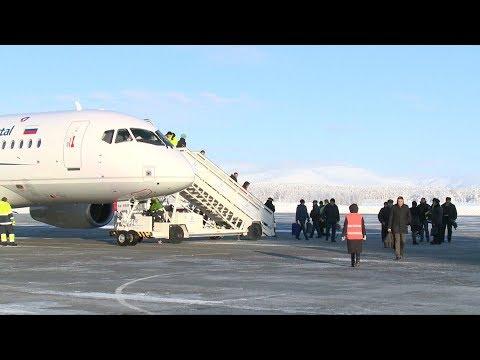 Аэропорт «Хибины» принял первый прямой рейс из Череповца