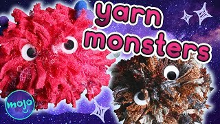 How to Make a Scary Yarn Monster - Crafty Cloud