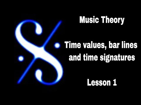 🎼  Grade 1 Music Theory - Time Values, Bar Lines and Time Signatures - Lesson 1