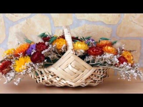 Красивые букеты из сухоцветов для украшения дома