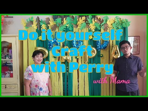 DIY Crafts with Perry: Jungle Birthday Style