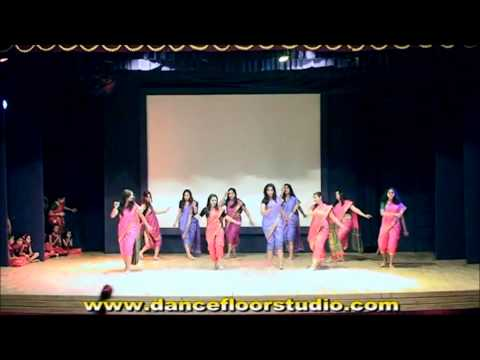 HICHKI ..marathi lavni Dance permance by Dance floor studio