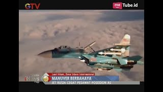 Panas! Pesawat Jet Milik Rusia Melakukan Manuver Berbahaya Terhadap Pesawat AS - BIP 29/11