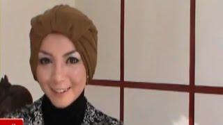 Hijab Style - Tutorial Cara Memakai Jilbab Paris Turban Segi Empat