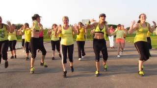 zumba fitness workout - LI TOURNÉ - DJ ASSAD - ZUMBA routine