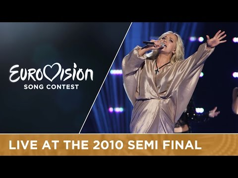 Aisha - What For? (Latvia) Live 2010 Eurovision Song Contest