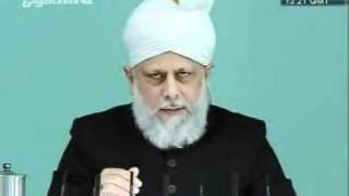 urdu  khutba juma jamaat ahmadiyaa 09 DEC 2011  imam mahdi AS CLIP 2