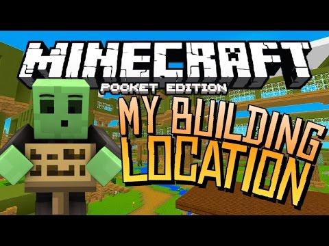 Minecraft PE: My Building Location Seed!