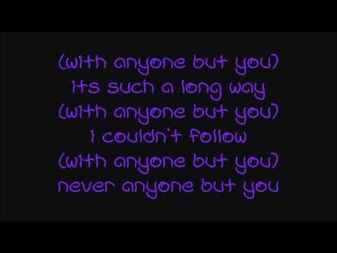 Alexz Johnson - anyone but you (With Lyrics)