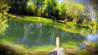 Fishing SUPER CLEAR WATER