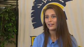Battle athlete becomes first CPS student to be a collegiate girl wrestler