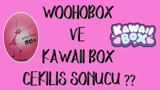 Woohoobox ve Kawaii Box Çekiliş Sonucu   Kimler kazandı?