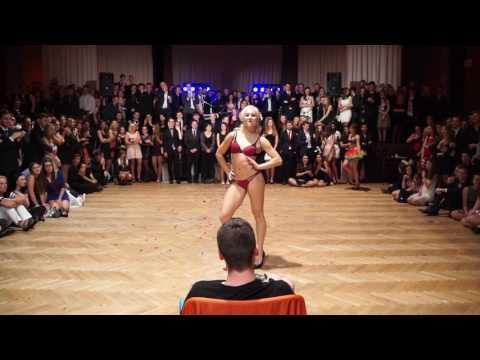Maturitní ples 8G Třebíč - Půlnoční překvapení