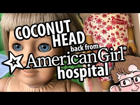 Fixing Silver Eyes At The AMERICAN GIRL Doll Hospital