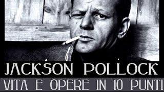 Jackson Pollock: vita e opere in 10 punti
