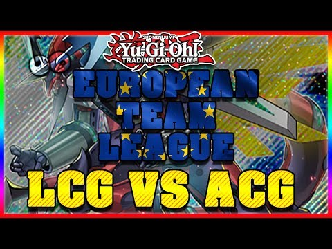 European Team League - LCG Vs. ACG (all 5 Matches With Commentary)