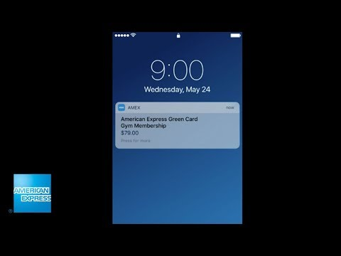The Amex® Mobile app for iPhone® | American Express