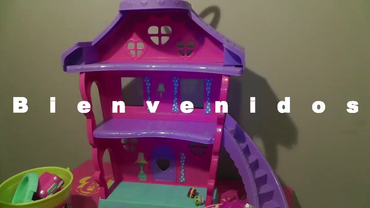 La casa de Minnie mouse, jugando en la casa de minnie - YouTube
