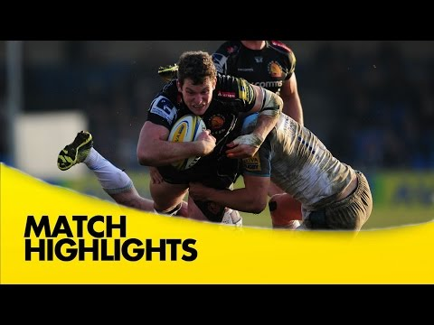 Exeter Chiefs V Newcastle Falcons  - Aviva Premiership 2015/16