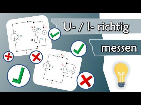Spannungsrichtige und Stromrichtige Messung - was heißt das? | Gleichstromtechnik #7