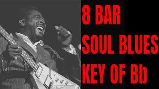 Sexy Slow Vintage Soul Blues Backing Track [Bb Major  - 55 bpm]