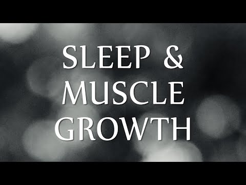 Sleep Hypnosis for Workout Recovery & Muscle Growth (Re-edited Voice & Music)