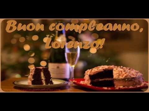 Buon Compleanno Lorenzo Youtube