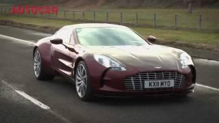 Ride shotgun in 1 of 77 Aston Martin One-77's