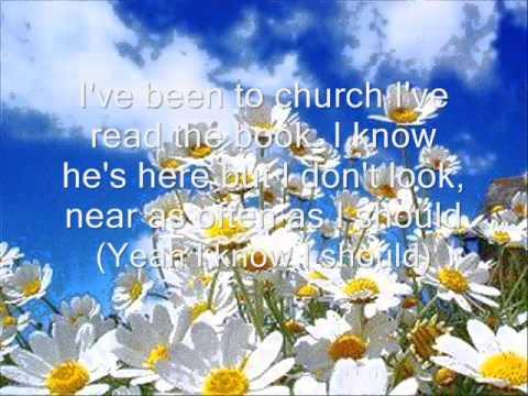 I Saw God Today-George Strait(With Lyrics)