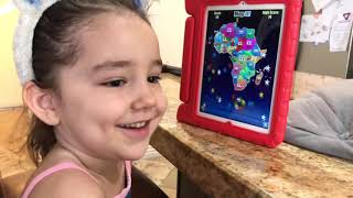 4 Year Old Completes Stack the Countries (Every Continent)!
