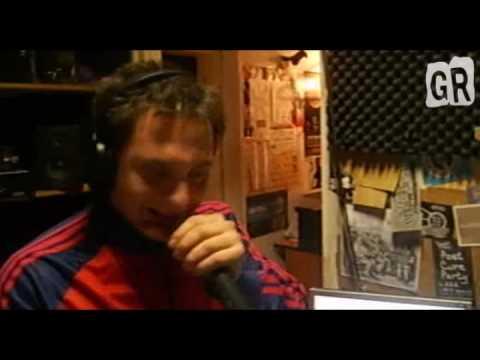 Mc Pita Ramos a stúdióban - GhettoRadio.TV  (2009.12.14)