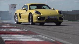 The New Porsche Cayman Drifting - /DRIVE MOMENTS
