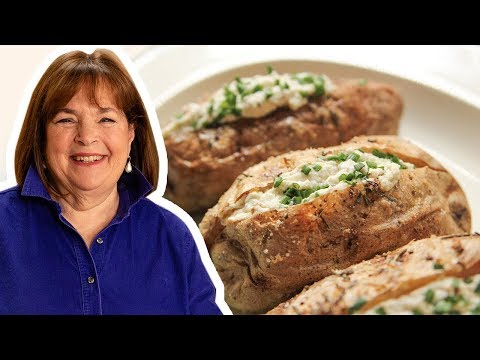 Barefoot Contessa Makes Crusty Baked Potatoes With Whipped Feta | Food Network
