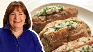 The Barefoot Contessa Makes Crusty Baked Potatoes with Whipped Feta | Food Network