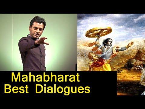 Nawazuddin siddiqui Best Dialogue  of Lord Krishna Mahabharat