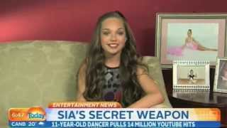 Maddie Ziegler Dance Moms on Today Australia 5/27/14