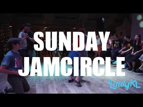Sunday Night Jam Circle - Singapore Lindy Revolution 2017