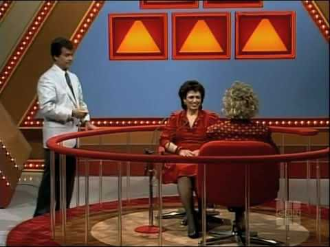 The $100,000 Pyramid (November 1986): Mary Cadorette & Barry Jenner