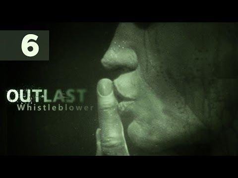 Outlast Whistleblower Прохождение На Русском (в ожидании Outlast 2) #1 — КАННИБАЛ С БЕНЗОПИЛОЙ!