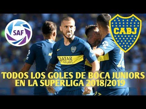 TODOS LOS GOLES DE BOCA JUNIORS EN LA SUPERLIGA 2018/2019