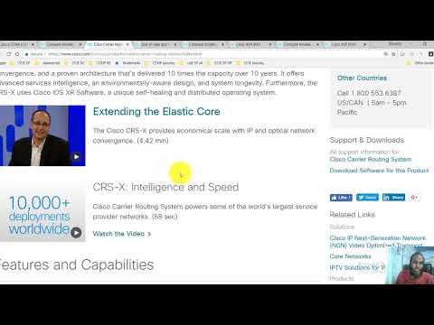 003 Cisco IOS XR Platforms