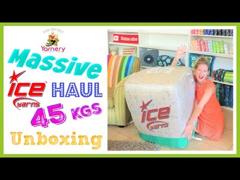 MASSIVE Ice Yarn Haul & Unboxing - 45kgs Of Heaven!