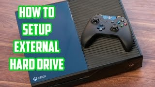 How To Setup Xbox One External Hard Drive | Walkthrough
