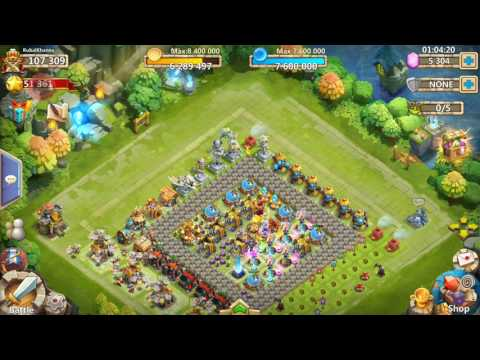 How To Get Legendary Heros In Castle Clash In Hindi