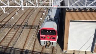 都営E5000形電気機関車の構内運転