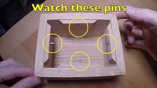 Making A Spinning Puzzle Box (using solid brass rivets)