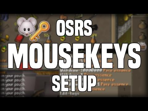 MouseKeys Setup Guide for OSRS
