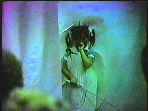 1982 me (Rebecca Mengwasser) in play @ Christian Life Center School Rockford, Illinois CLC