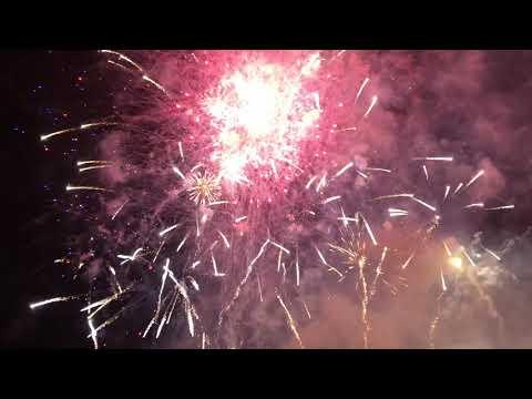 Healdsburg Fourth of July Fireworks Finale (Best Ever) - Live @ Healdsburg High School 2019